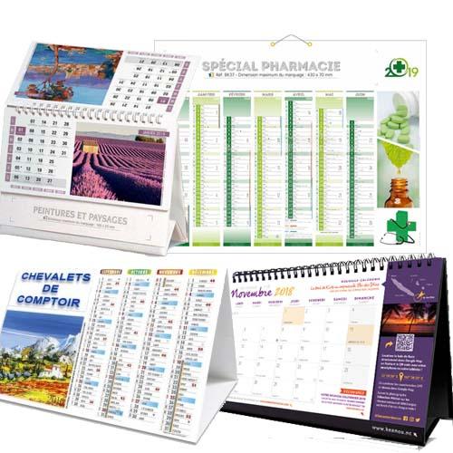 Calendrier Impression.Impression Calendrier Chevalet Pharmacie A Rabat Imprimerie